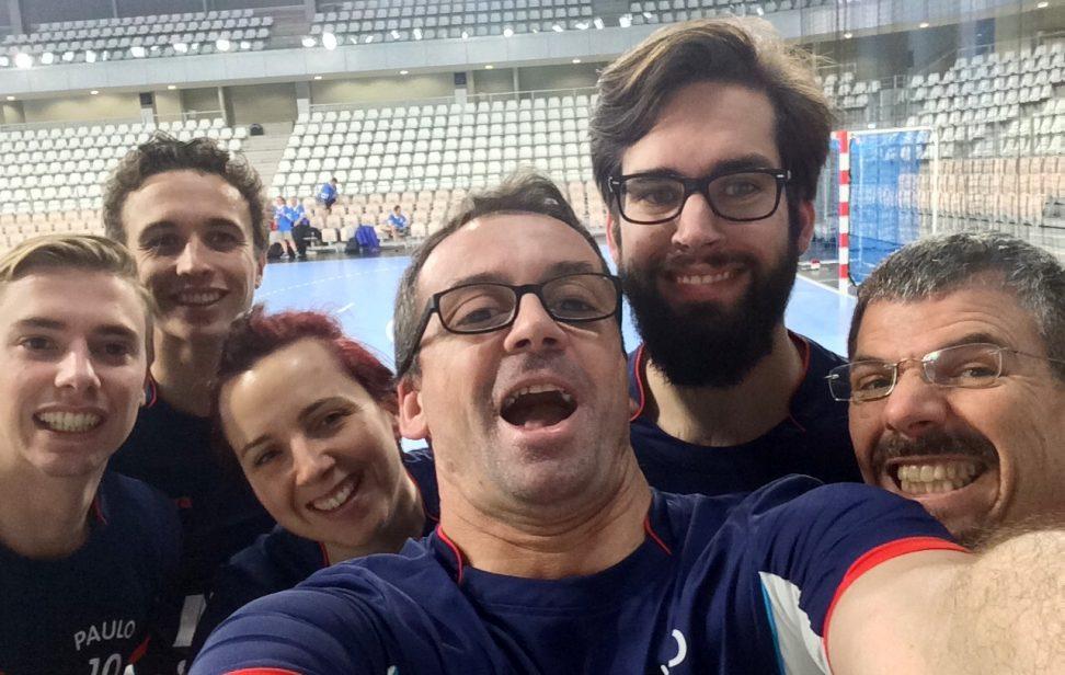 équipe SFCMM au handball